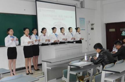 学院2018届重庆市轨道交通(集团)有限公司校园专场招聘会圆满收官