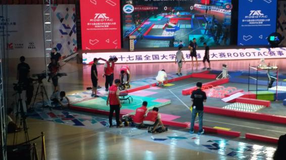 【公运】重庆公共运输职业学院代表队荣获第十七届全国大学生机器人大赛全国一等奖