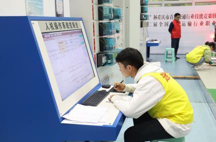 我系勇摘第十二届全国交通运输行业职业技能大赛重庆市选拔赛桂冠